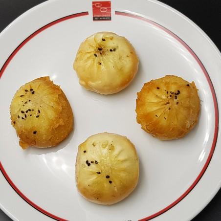 Bao de pollo Teriyaki