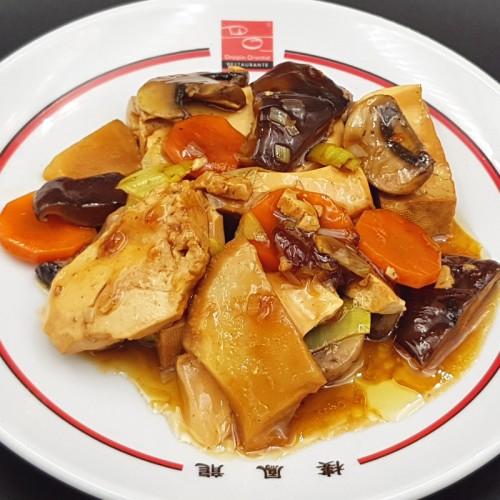 Dou-Fu picante (sabor típico Si-Chuang)