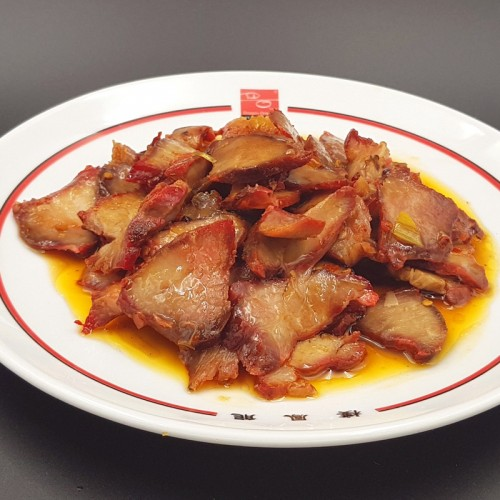 Cerdo asado estilo cantonés