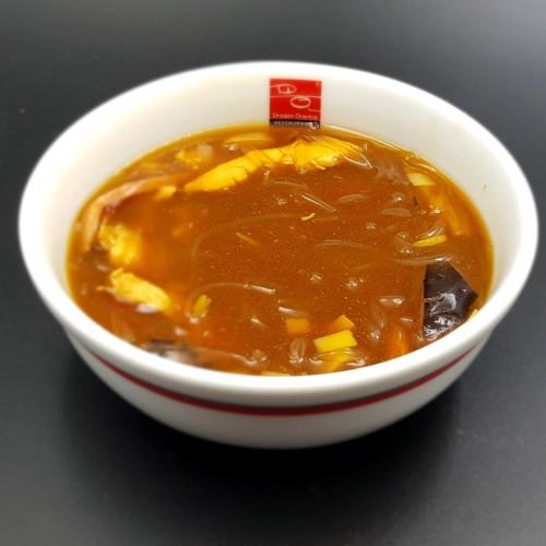 Sopa de aleta de tiburón con pollo