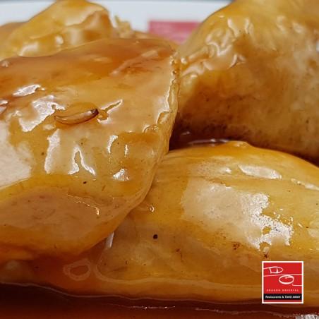 Pollo frito estilo cantonés