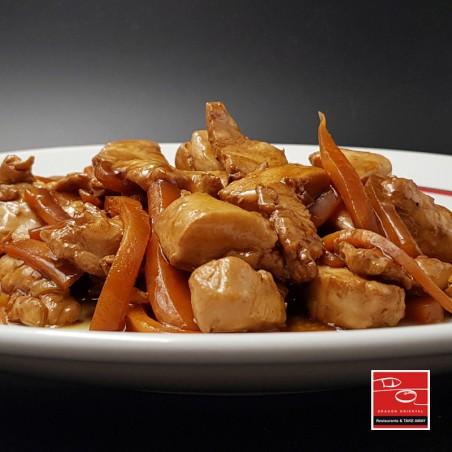 Pollo estilo Kung-Pao picante