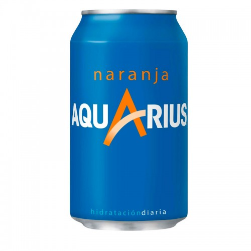 Aquarius Naranja (330ml)