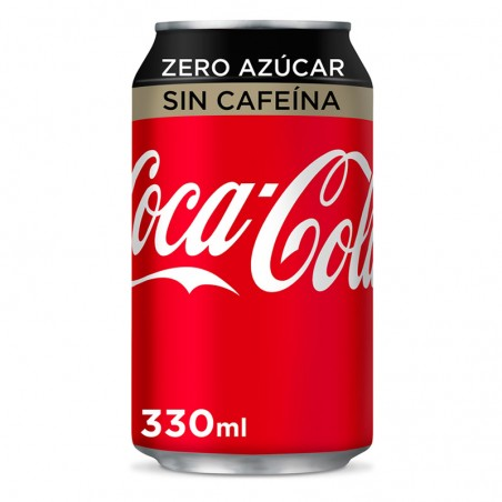 Coca Cola Zero sin Cafeína (330ml)