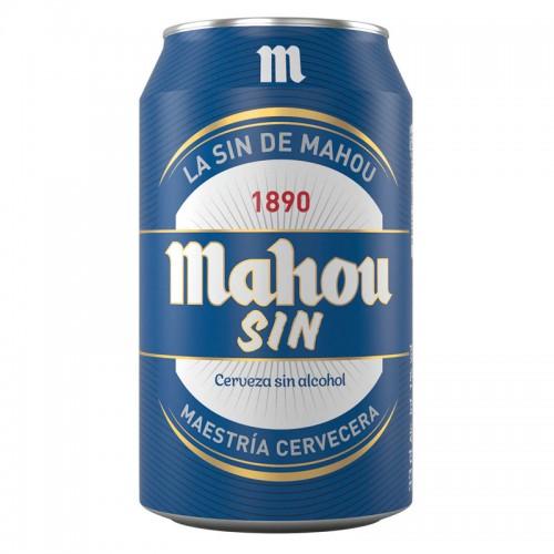 Cerveza Mahou Sin Alcohol (33 cl.)